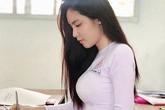 """Chân dung nữ sinh mang hai dòng máu Việt - Trung gây """"sốt"""" mạng"""