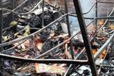 Cháy lớn ở chợ Voi (Hà Tĩnh), người dân hoảng loạn trong đêm