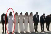 Dàn mỹ nữ 'Cuộc đua kỳ thú' diện áo dài trắng tại Triều Tiên, Đỗ Mỹ Linh lại nổi nhất!