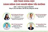 Chờ đón: Hội thảo khoa học Nâng cao hiệu quả điều trị bệnh tiểu đường