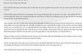 Trường Gateway gửi thông cáo báo chí xin lỗi phụ huynh