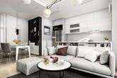Thiết kế nội thất chung cư 70m2 vẫn rộng thênh thang với 1001 gợi ý siêu đỉnh