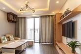 Với 250 triệu đồng, căn hộ 88m² đã được hoàn thiện xuất sắc với màu gỗ trầm ấm, sang trọng ở Hà Nội