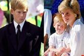 Nỗi cô đơn trong gia đình quyền thế của Hoàng tử Harry khi Công nương Diana qua đời
