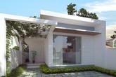 Những mẫu thiết kế nhà cấp 4 mái bằng 2-3 phòng ngủ, nhà đông người nên xây