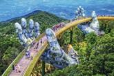 Vi diệu Cầu Vàng Bà Nà Hills tại nhiều thời điểm trong ngày