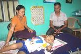 Xé lòng câu nói của con trai 8 tuổi mắc bệnh ung thư máu và mong ước của đôi vợ chồng nghèo
