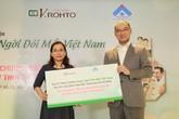 """Lễ ra mắt Quỹ từ thiện """"V.Rohto – Rạng ngời đôi mắt Việt Nam"""""""