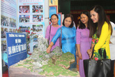 Ngắm nhìn gần trăm sản phẩm khoa học, đồ dùng tự làm của thầy và trò huyện Ninh Giang