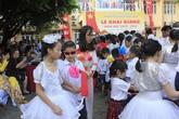 Khai giảng ấm áp của những học sinh khiếm thị trường PTCS Nguyễn Đình Chiểu