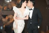 Chồng trẻ Phan Hiền không ngại tình cảm bên Khánh Thi trong đám cưới con gái đại gia Minh Nhựa