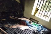 Nghi vấn con tẩm xăng đốt mẹ ở Hà Nam