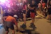 Hà Nội: Đôi nam nữ đi xe máy tông vào gốc cây ven đường, 1 người tử vong