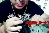 Chàng trai Trung Quốc mất mạng khi live stream ăn rết, tắc kè sống