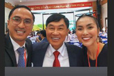 Tăng Thanh Hà lần đầu đăng ảnh cùng bố chồng doanh nhân giàu có và tuyên bố một điều bất ngờ