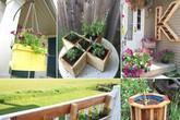 15 ý tưởng tự tạo hộp trồng cây tạo điểm nhấn đặc biệt cho ngôi nhà