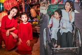 Diễn viên Mai Phương dẫn con gái đi du lịch Hội An sau bạo bệnh