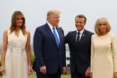 Đọ sắc cùng Đệ nhất phu nhân Mỹ, vợ Tổng thống Pháp tự tin rạng ngời, không hề bị lép vế nhờ chi tiết tinh tế này