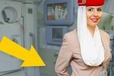 Vì sao tiếp viên hàng không thường khoanh tay sau lưng khi chào khách?