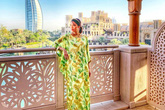 Bụng bầu vượt mặt, Lan Khuê vẫn được chồng chiều chuộng đưa đi du lịch tận Dubai