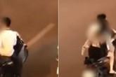 Đôi nam nữ gây bức xúc khi không đội mũ bảo hiểm, dừng xe máy giữa đường phố để... cãi nhau