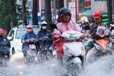 Thời tiết hôm nay: Vùng áp thấp trên Biển Đông gây mưa dông gió lớn