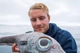 'Thủy quái' giống khủng long cắn câu ngư dân ở Na Uy