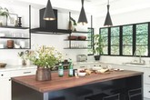Những ý tưởng lát sàn, ốp tường lạ mà đẹp cho nhà bếp có thể bạn chưa nghĩ tới