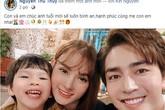 Thu Thủy lại đăng đàn chứng minh gia đình hạnh phúc, bất ngờ nhất là phản ứng của chồng trẻ