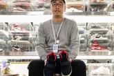 Bùng lên cơn sốt mua bán giày thể thao