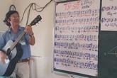 Học sinh mê toán từ 'bài ca định lý' do thầy phổ nhạc