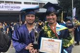 Anh em song sinh cùng tốt nghiệp xuất sắc trường ĐH Bách khoa TPHCM