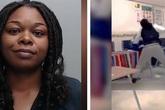 Cô giáo đánh đập dã man học sinh giữa lớp làm cả nước Mỹ rúng động