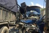Tai nạn liên hoàn trên Xa lộ Hà Nội: Phụ xe tử vong mắc kẹt trong cabin, tài xế bị thương nặng