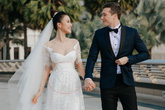 Sau đám cưới trong mơ, Hoàng Oanh liên tục để lộ vòng 2 lớn bất thường giữa tin đồn mang thai