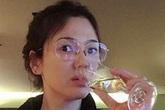Song Hye Kyo mặt mộc trẻ trung ở tuổi U40