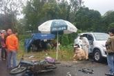 Nam sinh lớp 7 chết thảm trên đường đi học, cha và em nguy kịch sau tai nạn liên hoàn