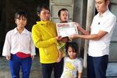 Báo Gia đình và Xã hội trao hơn 40 triệu đồng đến các hoàn cảnh khó khăn ở Nghệ An