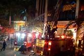 Thanh Hoá: Cháy lớn tại tòa nhà dầu khí, nhiều nhân viên kêu cứu