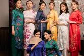 Quỳnh Nga, Huyền Lizzie cùng dàn diễn viên 2 miền Bắc - Nam khoe sắc trong tà áo dài  đón Tết