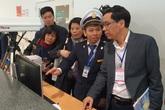 Bộ Y tế kiểm tra phòng, chống dịch viêm phổi cấp do virus corona mới tại sân bay Nội Bài