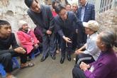 Phó Thủ tướng Vũ Đức Đam thăm xóm chạy thận Bạch Mai ngày cuối cùng của năm
