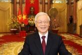 Tổng Bí thư, Chủ tịch nước Nguyễn Phú Trọng phỏng thơ Bác Hồ chúc Tết toàn dân