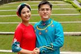 Bạn trai chụp ảnh Tết cùng gia đình Hoa hậu Ngọc Hân làm dấy lên nghi vấn sắp có một đám cưới đẹp