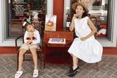 Mai Phương và con gái du lịch Thái Lan
