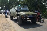 Huy động xe bọc thép vây bắt nghi can bắn chết 5 người ở TP.HCM
