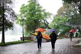 Dự báo thời tiết 5/1: Hà Nội sáng mưa phùn chiều hửng nắng, cả nước hầu như mưa nhỏ