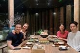 Chi Bảo đi ăn cùng vợ cũ và bạn gái mới