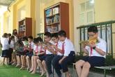 """Học sinh Hải Phòng hào hứng với """"Thư viện 50K"""""""