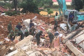 Sạt lở đất ở Quảng Trị: 5 người may mắn được giải cứu, tìm thấy 3 thi thể
